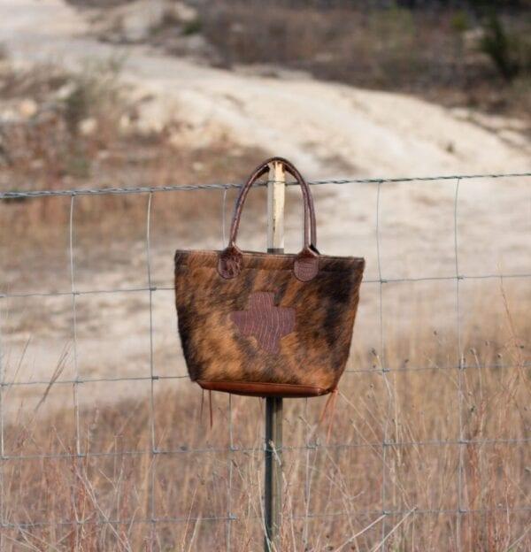 Texas Cowhide Bag