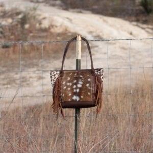 Axis & Leopard Shoulder Bag