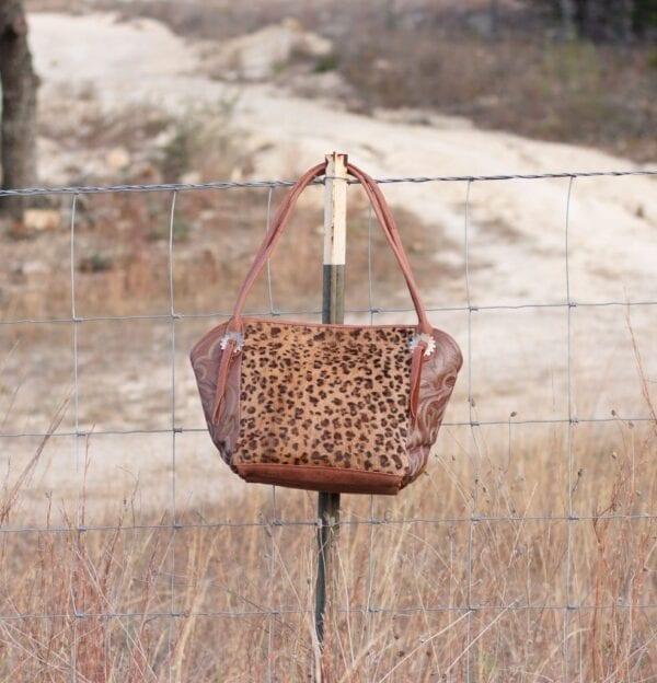 Leopard & Boots Bag
